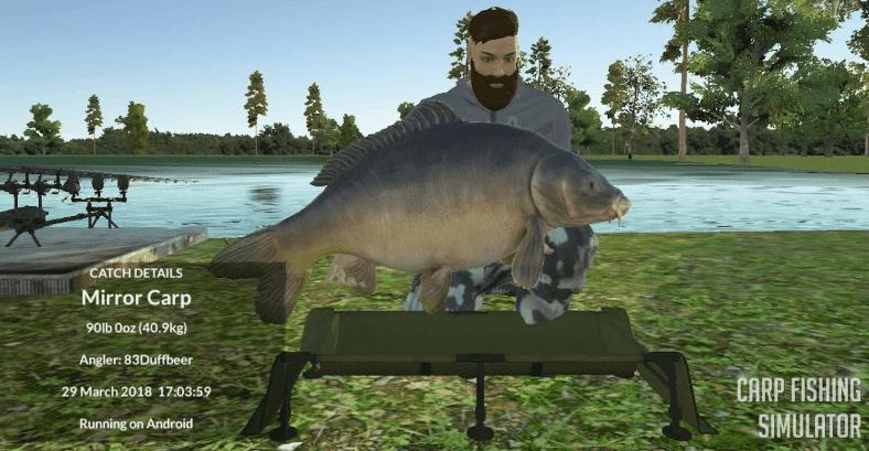 Carp Fishing Simulator gameplay pc