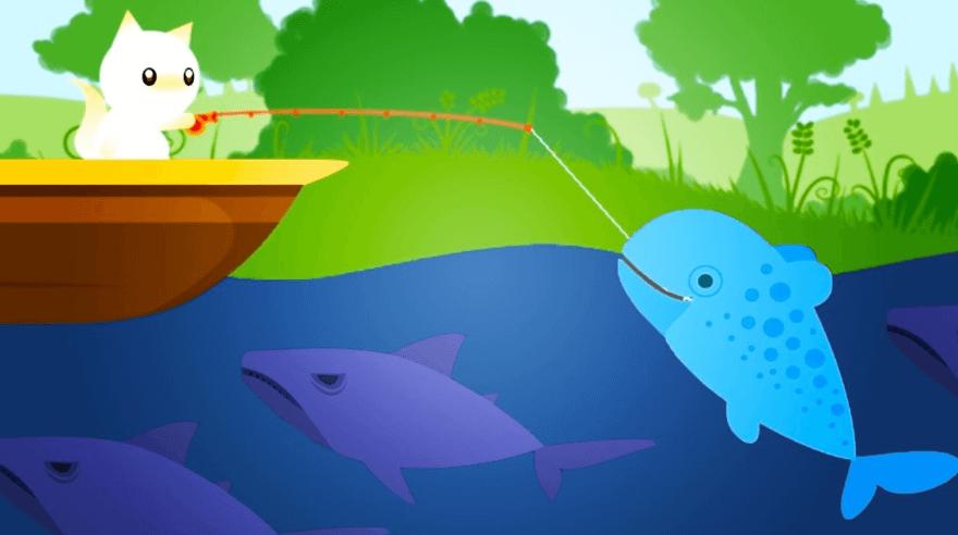 Cat Goes Fishing PC gameplay