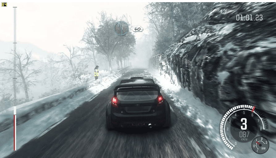 DIRT Rally PS4 driving simulation car racing