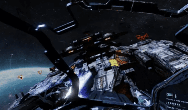 You can play End Space with Oculus Rift or Samsung Gear VR