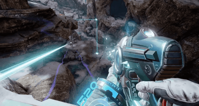 Farpoint one of the best virtual reality gameplay