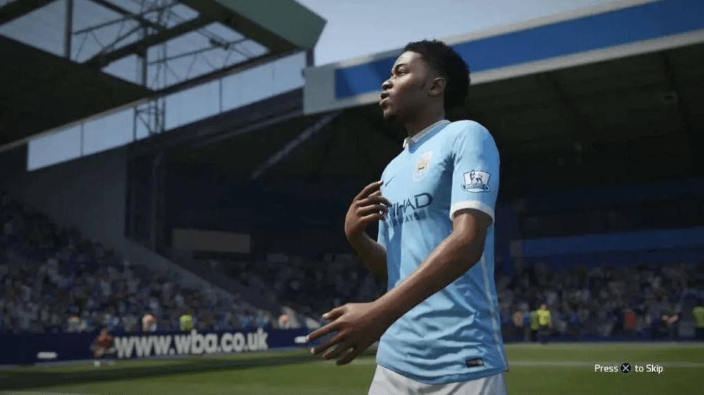 FIFA 16 sports game football on ps4