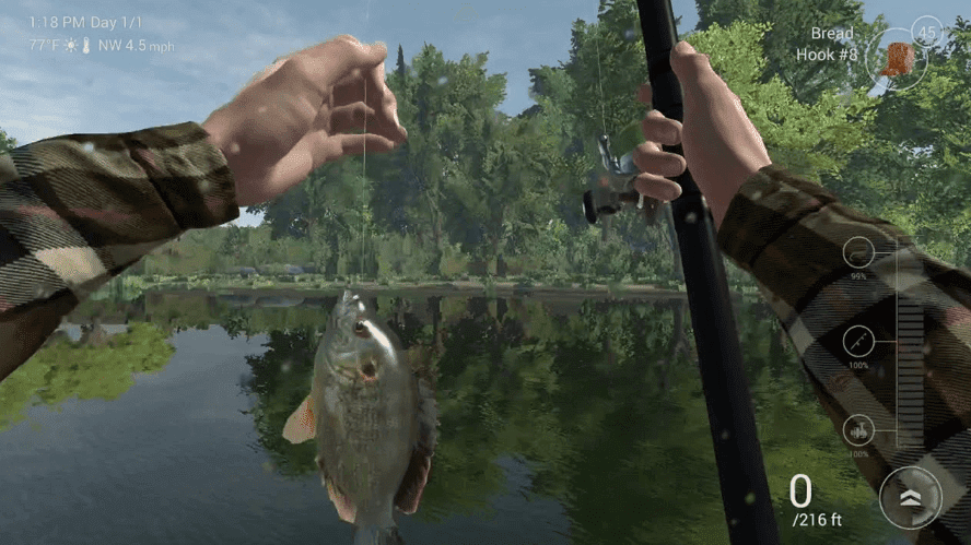 Fishing Planet one of the best fishing games for PC gamers