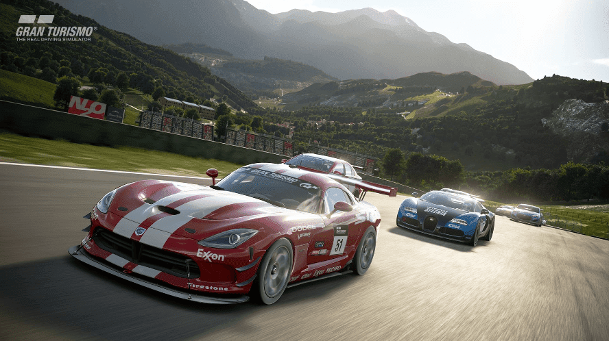 Gran Turismo Sport one of the best graphics ps4 racing game
