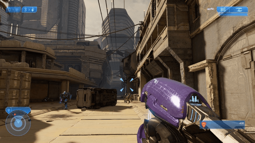 Halo: The Master Chief Collection fps gameplay