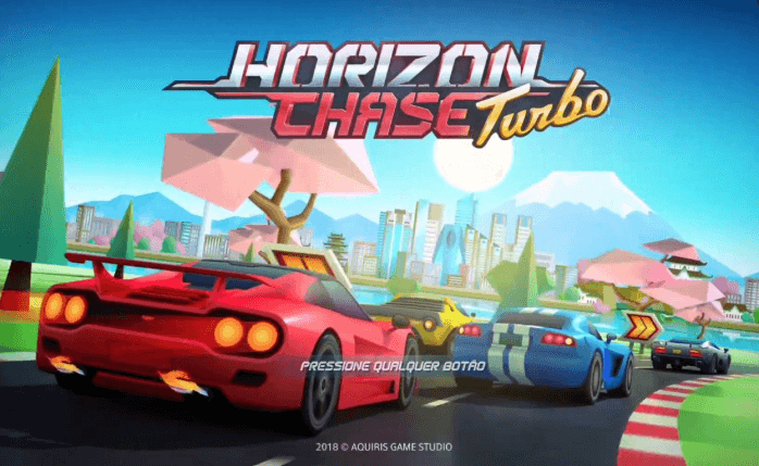 Horizon Chase Turbo speed game for ps4
