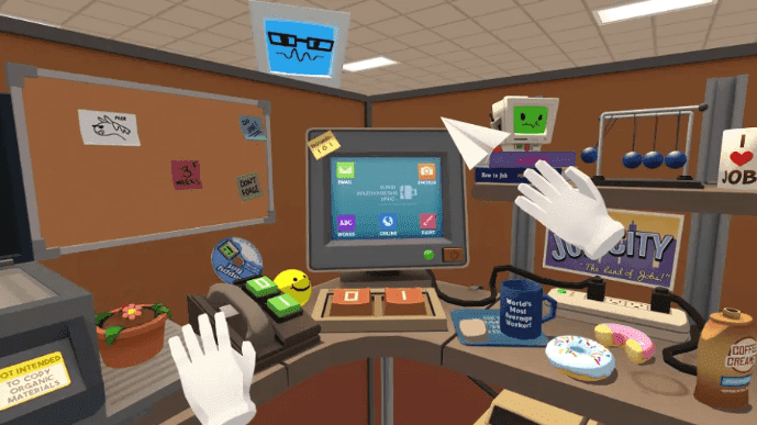 Job Simulator lets you play with VR
