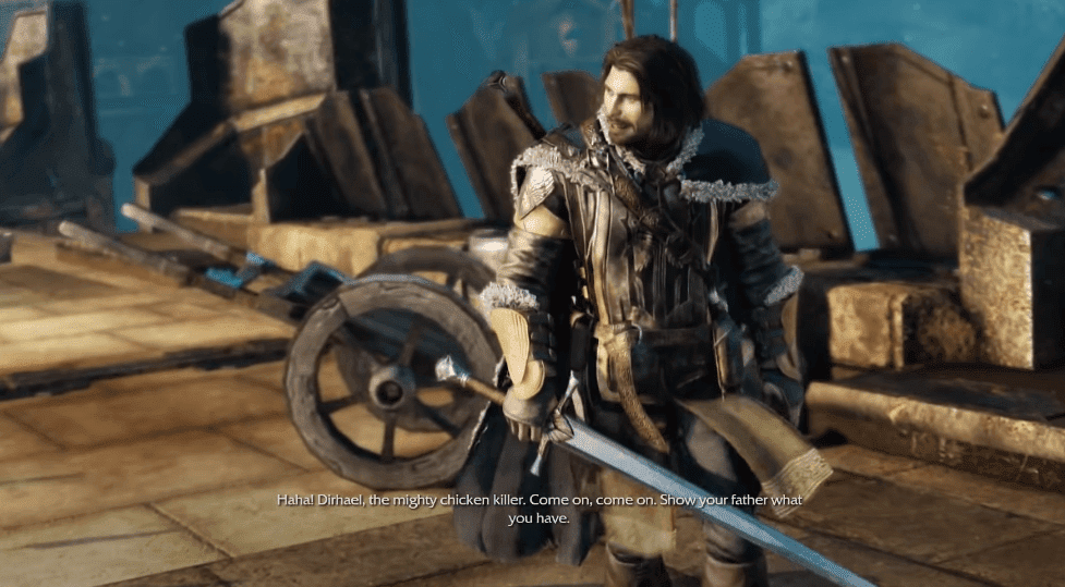 Middle-earth: Shadow of Mordor video game version of the lord of the rings