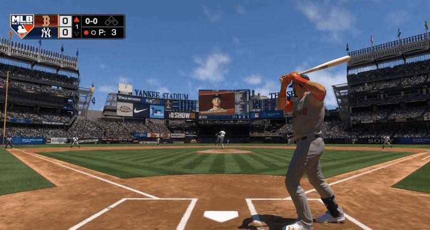 MLB The Show 18 baseball game ps4