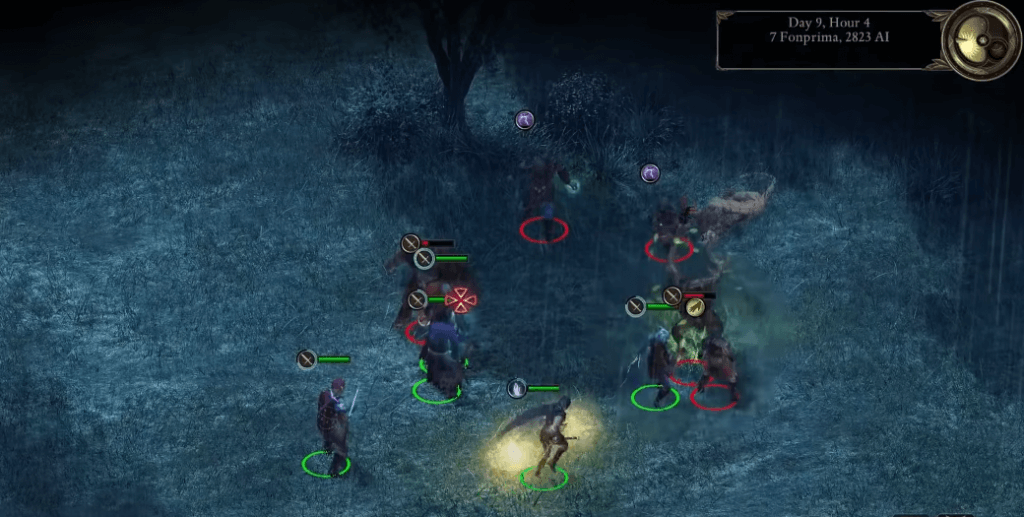 Pillars of Eternity: Complete Edition gameplay xbox one