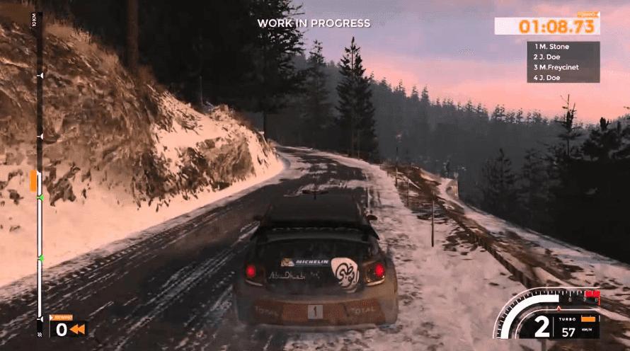 Sebastien Loeb Rally Evo racing game on ps4 gameplay