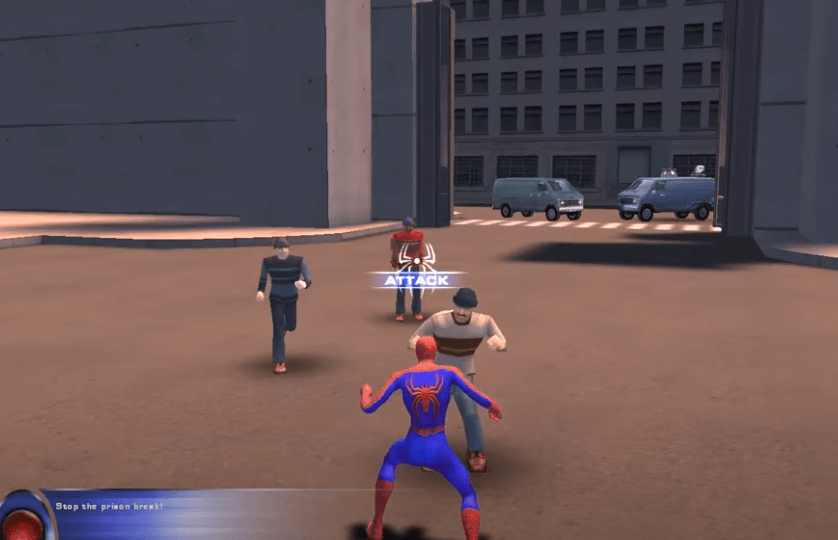 Spider Man is a great game series from movie