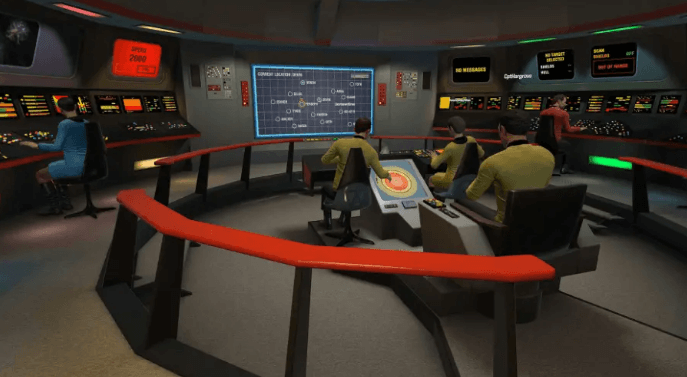 Star trek bridge crew playable in VR