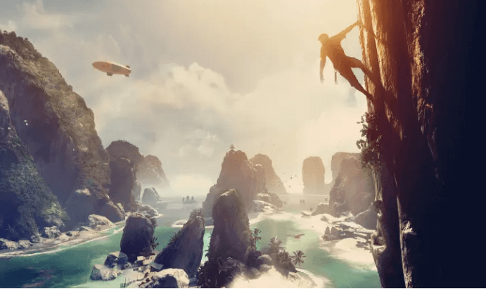 The Climb is a great virtual reality gameplay