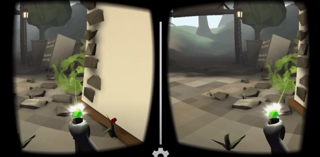 Wizard Academy VR gameplay