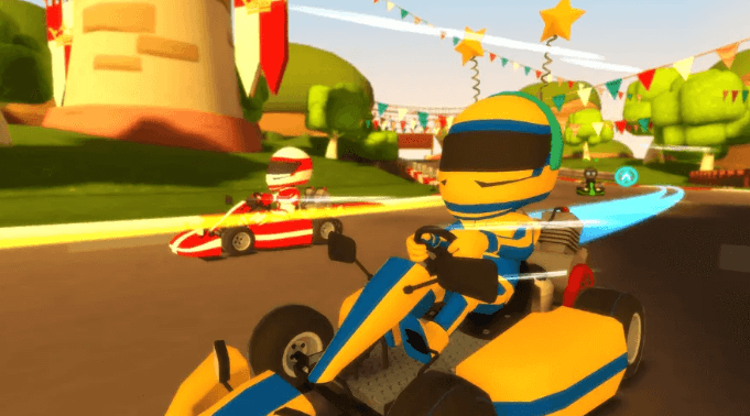 VR Karts is a virtual reality game