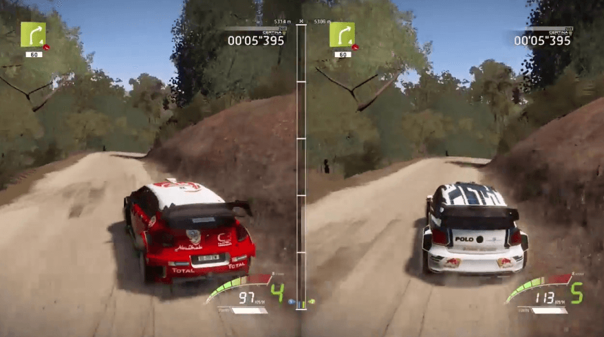 WRC 7 gameplay