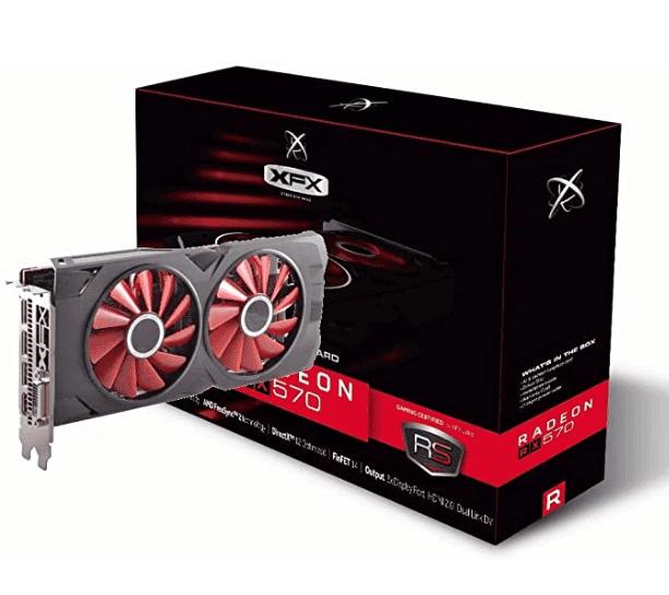 Radeon RX 570 RS XXX Edition 1286MHz, 8gb GDDR5, DX12 VR Ready