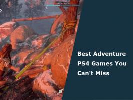 best adventure ps4 games