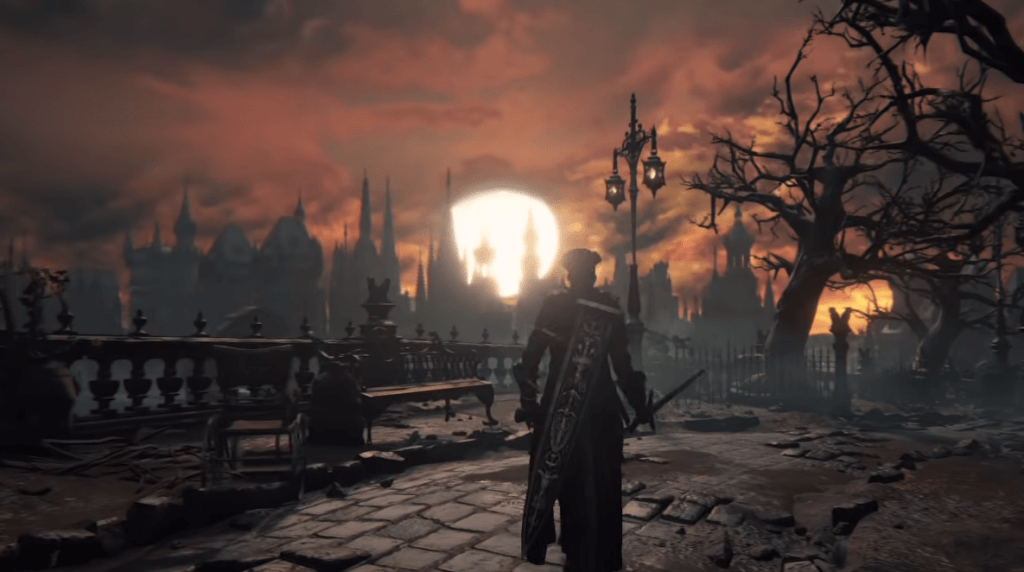 bloodborne moonnight gameplay ps4