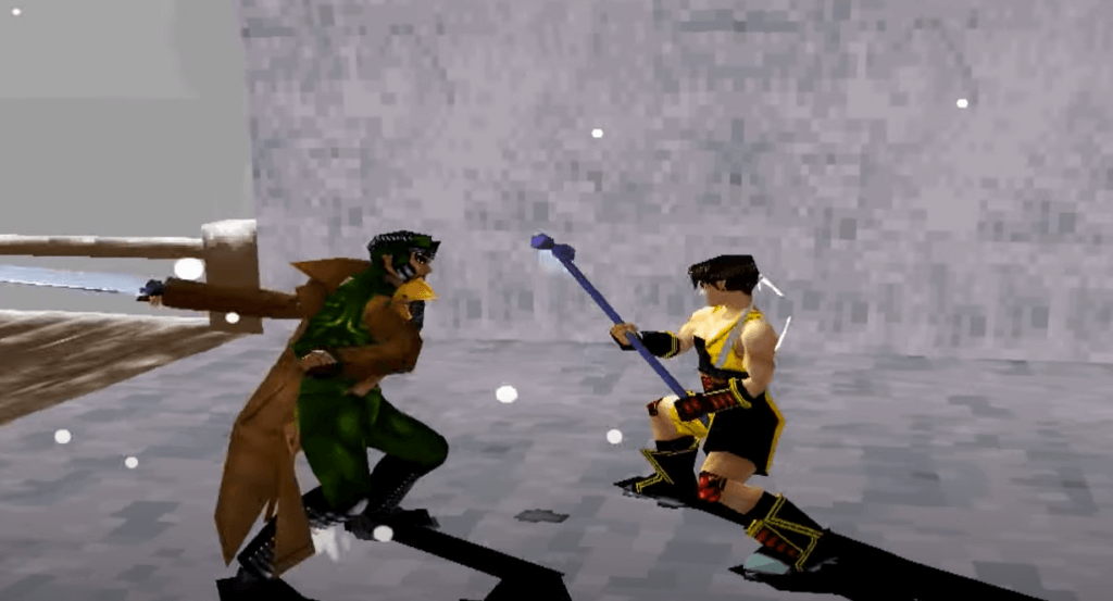 Bushido Blade is a great samurai fighting game for PlayStation