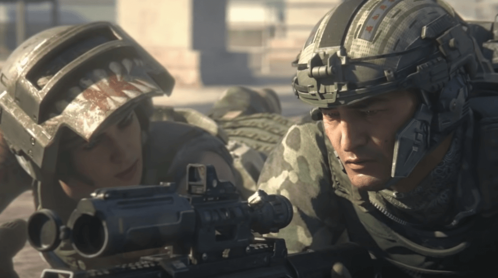 Call of Duty: Black Ops VI an FPS game with stunning graphics ps4