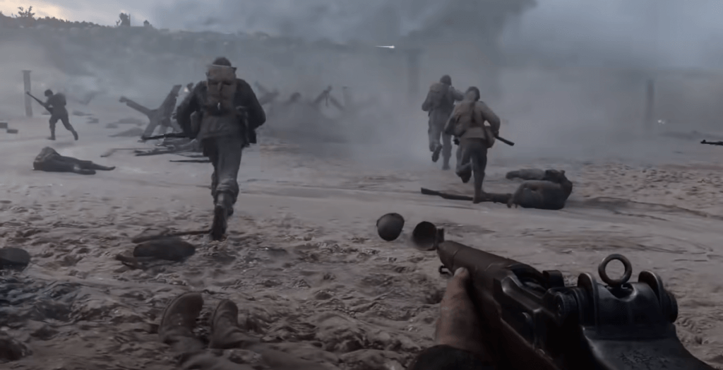 Call of Duty: WWII gameplay fps games for ps4