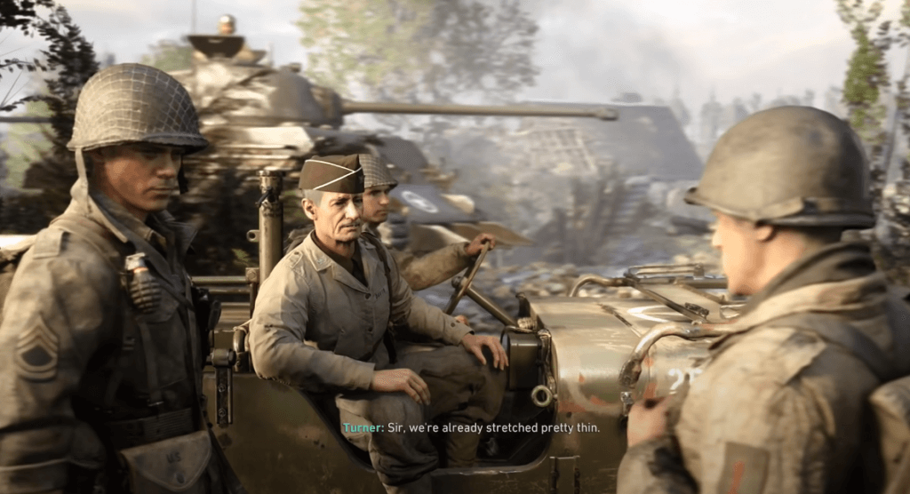 Call of Duty: WW2 has real graphics xbox one