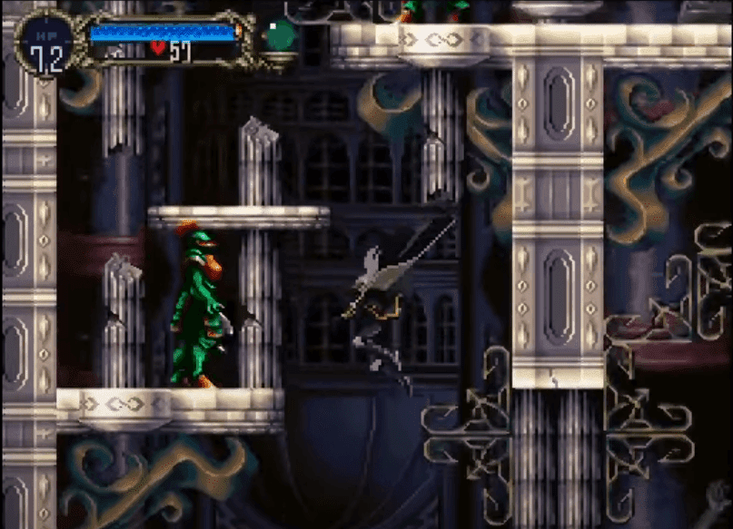 Castlevania: Symphony of the Night gameplay: platform, action-adventure, rpg