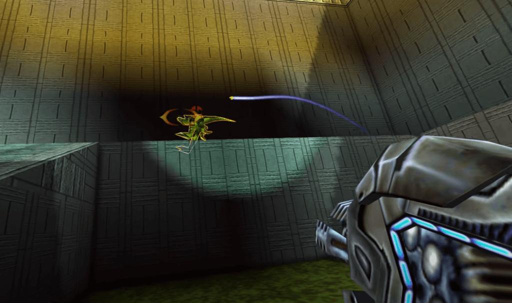 Cool weapon 11: Cerebral Bore - Turok 2