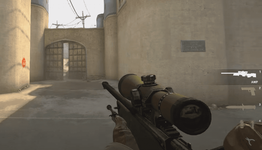 Cool weapon 3: The AWP Sniper – Counter-Strike