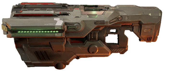 Cool weapon 2: BFG 9000 in DOOM Series