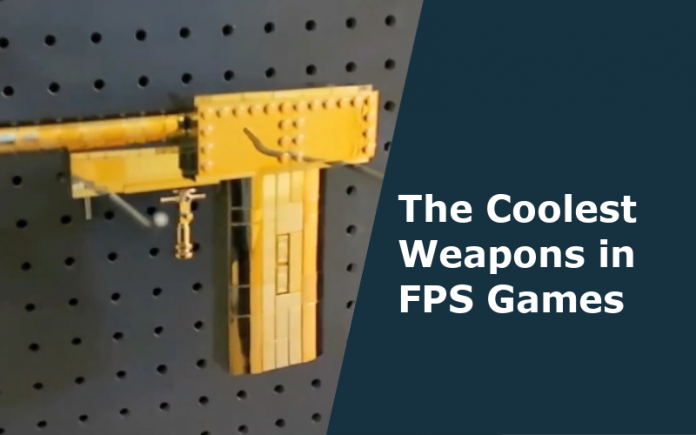 coolest video games weapons