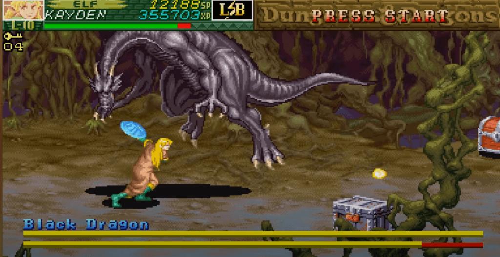 Dungeons & Dragons: Chronicles of Mystara gameplay