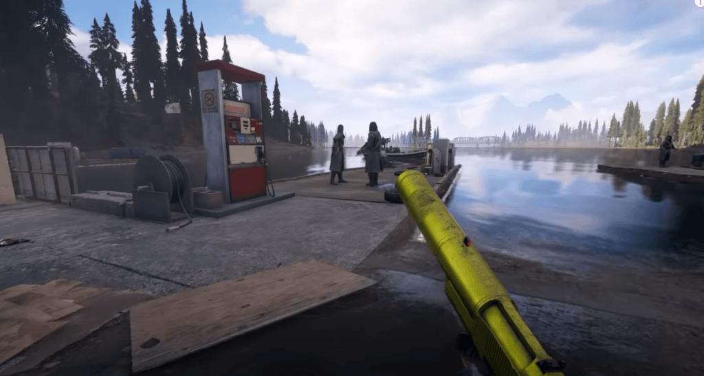 Far Cry 5 shooting gameplay