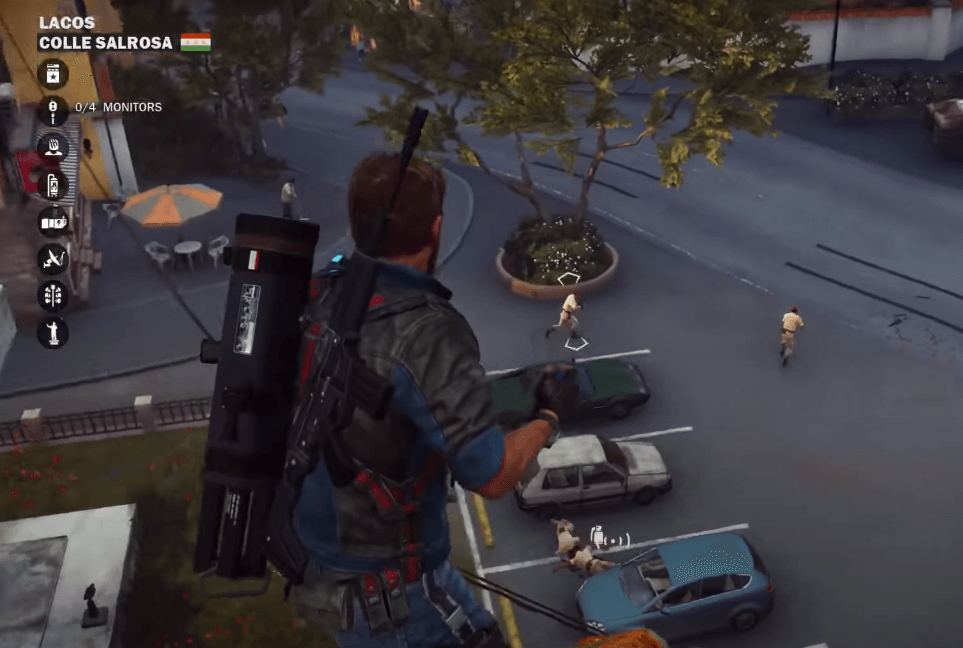 Just Cause 3 is a game similar to Grand Theft Auto