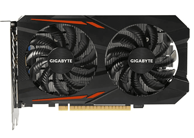 Gigabyte Geforce GTX 1050 Ti for games streaming