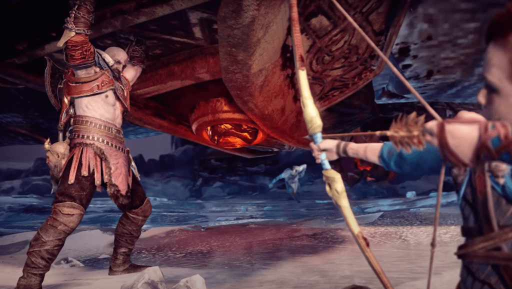 God of War is an excellent open-world hack and slash game for PS4