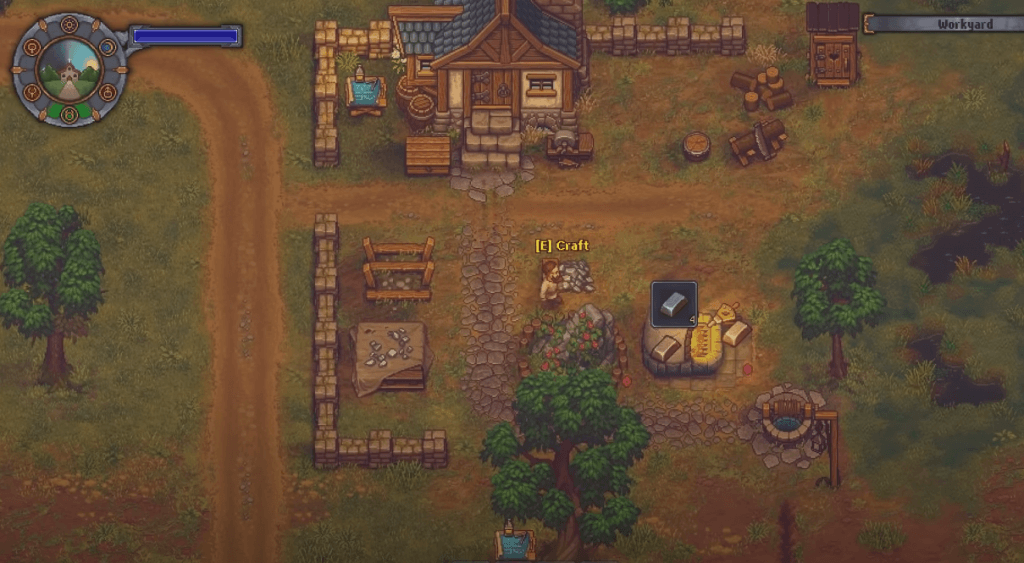 Graveyard Keeper gameplay - a similar game to The Sims