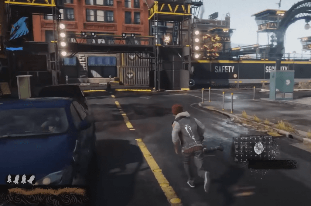 Infamous: Second Son has great graphics