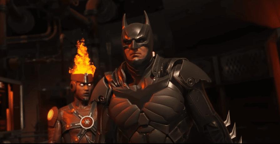Injustice 2 batman cutscene