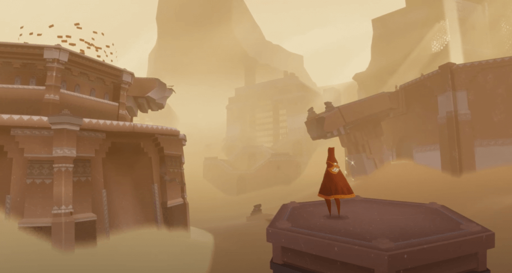 Journey unique graphics ps4 games