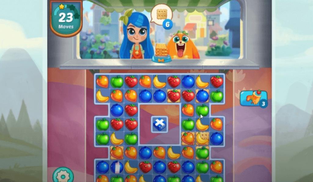 Juice Jam gameplay - candy crush alternative fruits puzzle