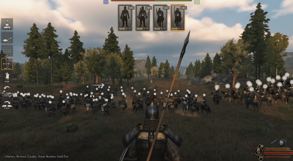Mount and Blade gameplay