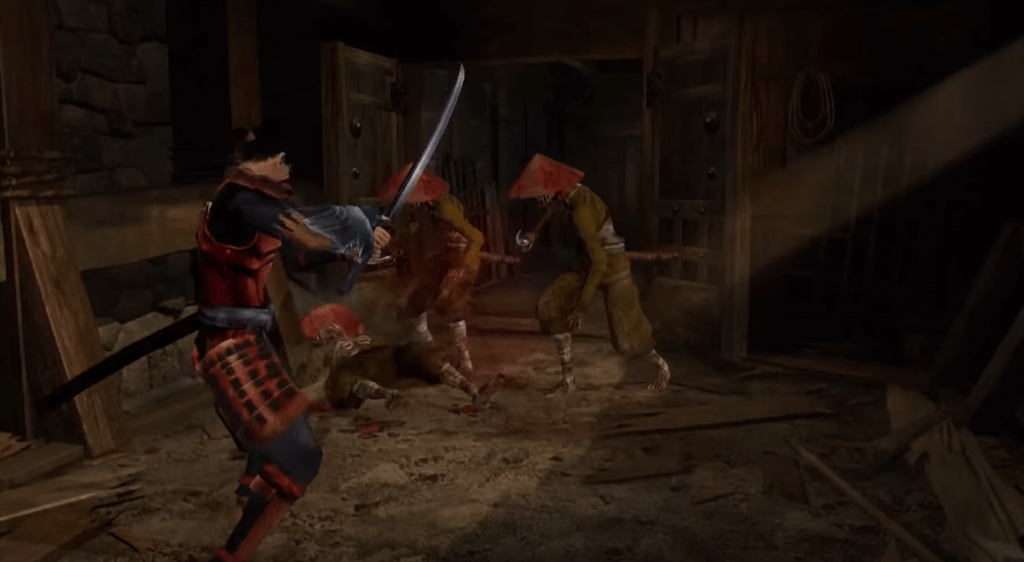 Onimusha: Warlords gameplay - one of the best samurai games for PC and consoles