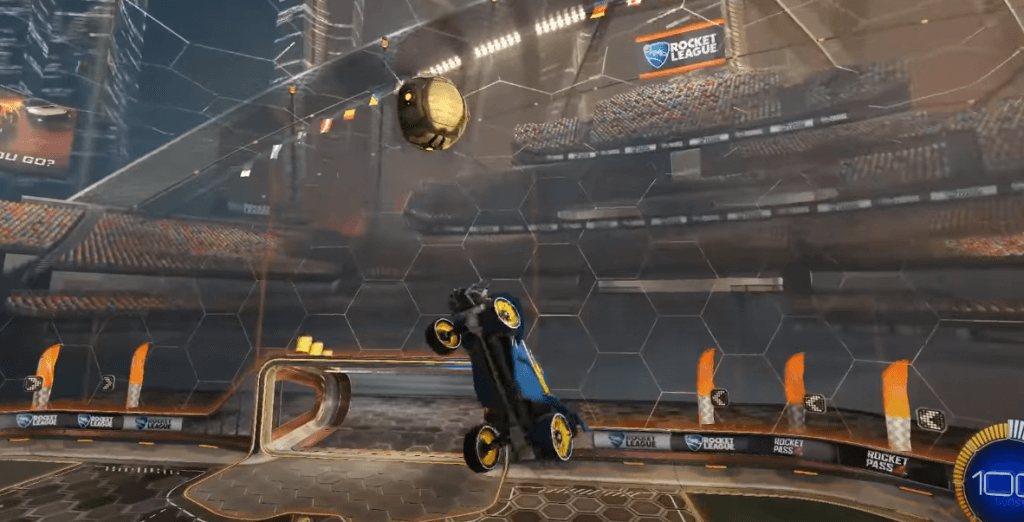 Rocket League ps4 gameplay