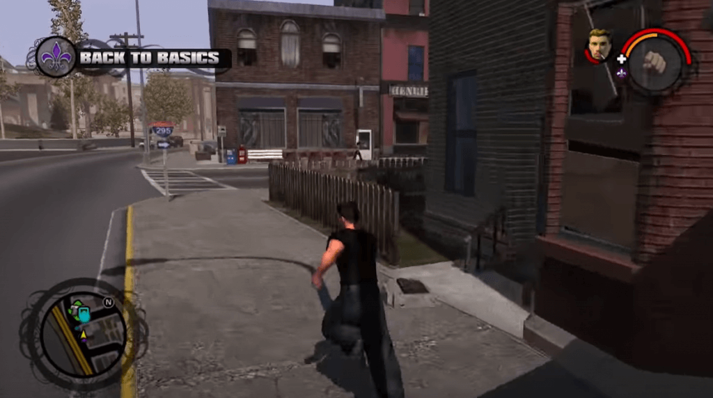 Saints Row have similarities with grand theft auto