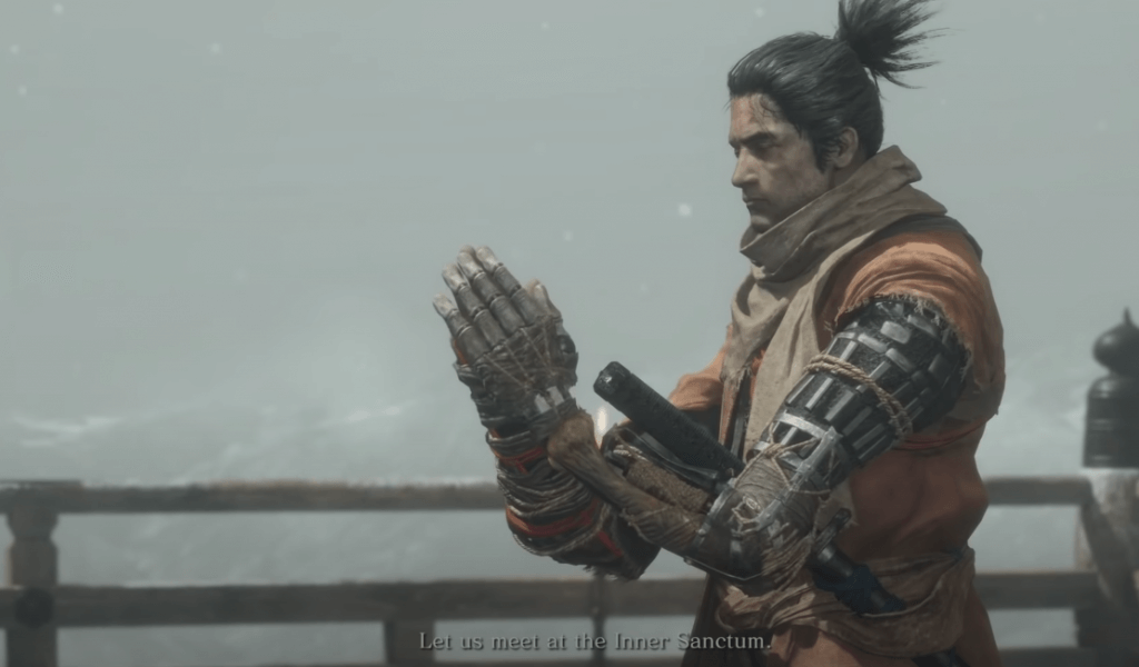Sekiro: Shadows Die Twice - a similar game to Dark Souls
