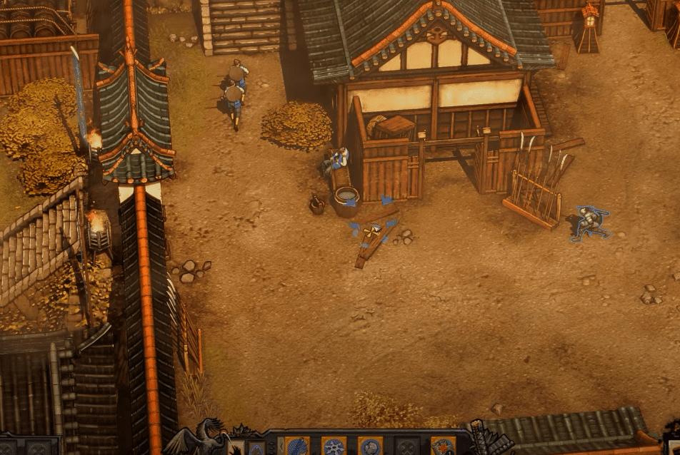 Shadow Tactics: Blades of the Shogun gameplay