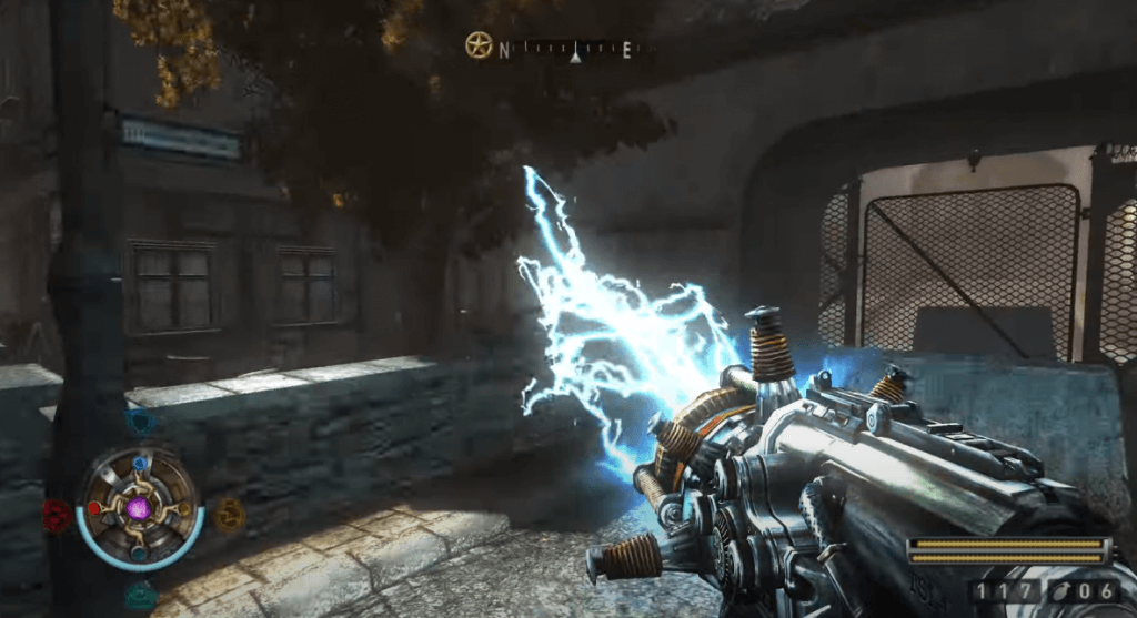 Wolfenstein II: The New Colossus best shooting games for nintendo switch